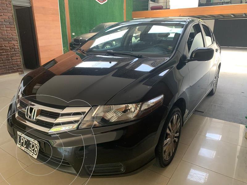 Honda City LX usado (2012) color Negro Cristal precio $880.000