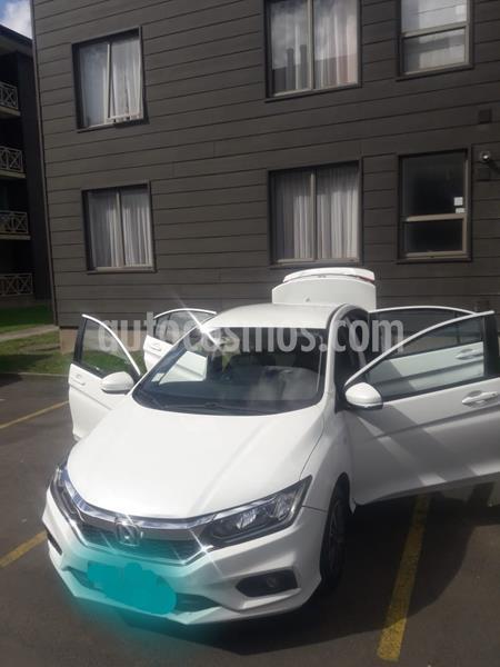 Honda City 1.5L EX Aut usado (2018) color Blanco precio $8.500.000