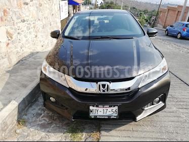 Honda City EX 1.5L Aut usado (2016) color Bronce precio $189,000