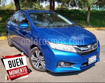 Foto venta Auto Seminuevo Honda City EX 1.5L Aut (2017) color Azul precio $249,000