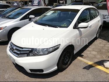 Foto venta Auto usado Honda City EX 1.5L Aut (2013) color Blanco Marfil precio $155,000