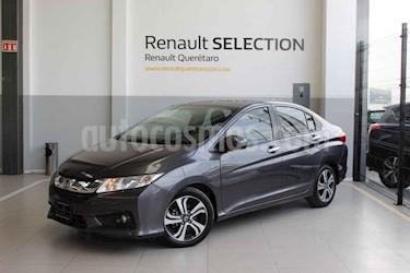 Foto venta Auto usado Honda City EX 1.5L Aut (2016) color Gris precio $215,000