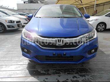 Foto venta Auto usado Honda City EX 1.5L Aut (2019) color Azul Deportivo precio $287,000