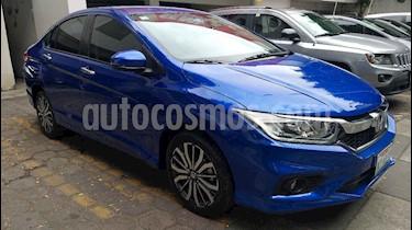 Foto venta Auto usado Honda City EX 1.5L Aut (2018) color Azul precio $263,000