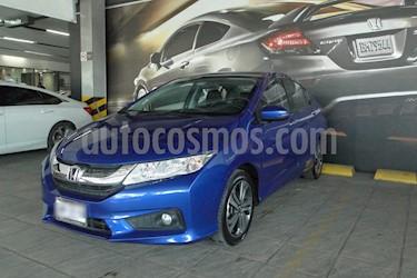 Foto venta Auto usado Honda City EX 1.5L Aut (2017) color Azul precio $240,000