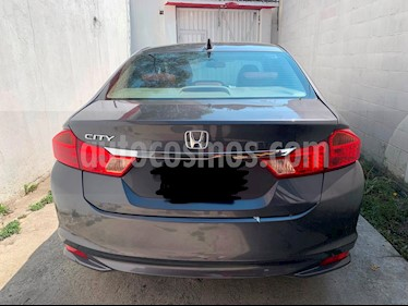Honda City EX 1.5L Aut usado (2017) color Acero precio $235,000