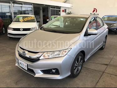 Foto Honda City EX 1.5L Aut usado (2016) color Plata precio $219,000