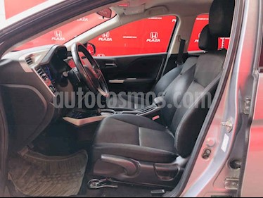 foto Honda City EX 1.5L Aut usado (2017) color Plata precio $237,000