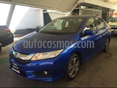 Foto venta Auto usado Honda City EX 1.5L Aut (2017) color Azul precio $239,000