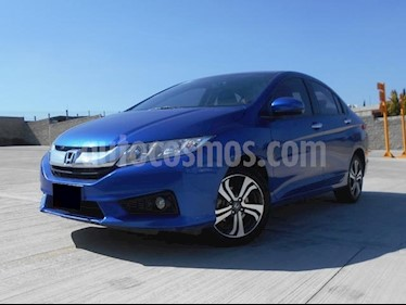 Foto venta Auto Seminuevo Honda City EX 1.5L Aut (2017) color Azul precio $233,000