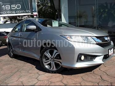 Foto venta Auto usado Honda City EX 1.5L Aut (2016) color Plata precio $202,000
