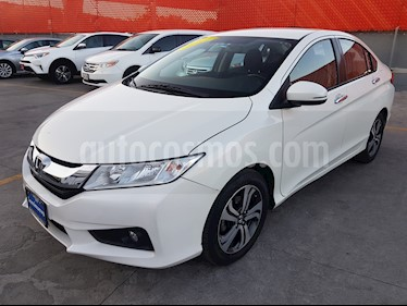 Foto venta Auto usado Honda City EX 1.5L Aut (2016) color Blanco Marfil precio $217,000