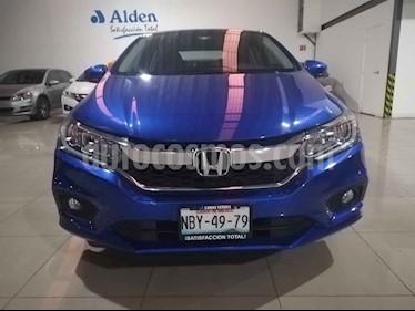 Foto Honda City EX 1.5L Aut usado (2018) color Azul precio $243,000