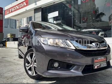 Foto venta Auto Seminuevo Honda City EX 1.5L Aut (2016) color Gris precio $215,000
