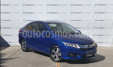 Foto venta Auto usado Honda City EX 1.5L Aut (2017) color Azul precio $225,000