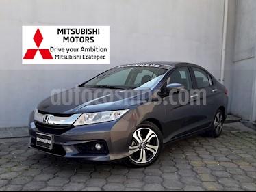 Honda City EX 1.5L Aut usado (2016) color Acero precio $204,900