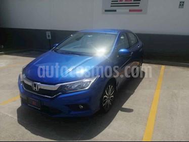 Foto venta Auto usado Honda City EX 1.5L Aut (2018) color Azul precio $240,000