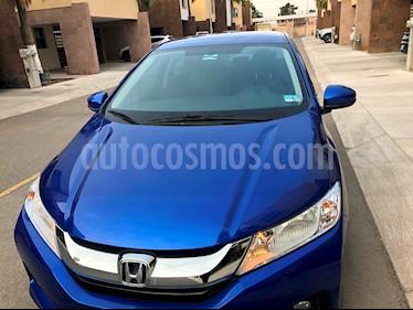 Foto venta Auto usado Honda City EX 1.5L Aut (2017) color Azul precio $228,000