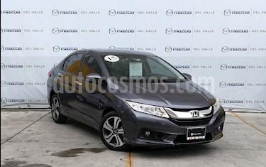 Foto venta Auto usado Honda City EX 1.5L Aut (2015) color Acero precio $210,000