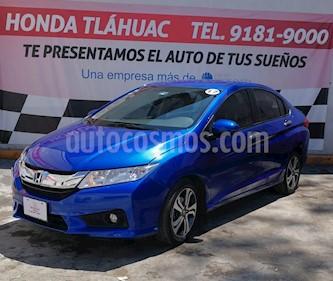 Foto Honda City EX 1.5L Aut usado (2017) color Azul precio $235,000