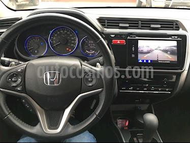 Foto venta Auto usado Honda City EX 1.5L Aut (2014) color Plata Diamante precio $165,000