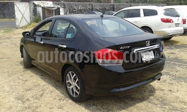 Foto venta Auto usado Honda City EX 1.5L Aut (2010) color Negro precio $120,000