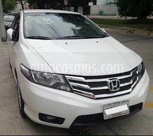 Honda City EX 1.5L Aut usado (2013) color Blanco precio $150,000