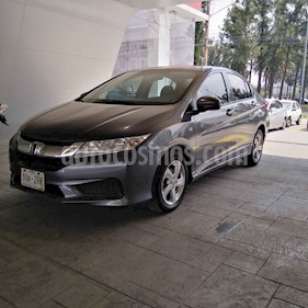 Foto venta Auto usado Honda City EX 1.5L Aut (2014) color Gris precio $157,000