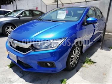 Foto Honda City EX 1.5L Aut usado (2018) color Azul precio $239,000