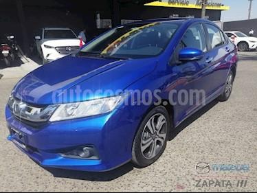 Foto venta Auto usado Honda City EX 1.5L Aut (2017) color Azul Jade precio $215,000