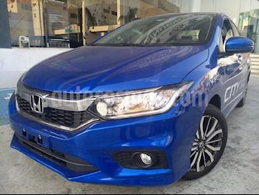 Foto venta Auto usado Honda City EX 1.5L Aut (2019) color Azul precio $285,000