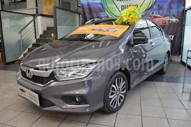 Foto venta Auto usado Honda City EX 1.5L Aut (2018) color Gris precio $244,000