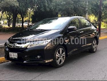 Honda City EX 1.5L Aut usado (2016) color Negro precio $210,000
