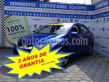 Foto Honda City EX 1.5L Aut usado (2017) color Azul precio $239,000