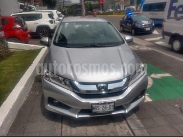 Foto Honda City EX 1.5L Aut usado (2015) color Plata Diamante precio $175,000