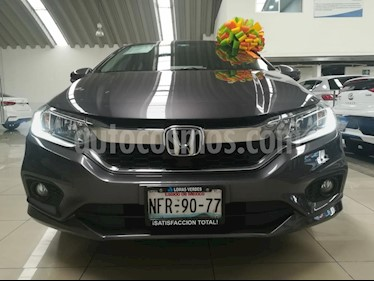 Foto venta Auto usado Honda City EX 1.5L Aut (2018) color Gris precio $249,000