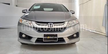 Foto Honda City EX 1.5L Aut usado (2015) color Plata Lunar precio $210,500