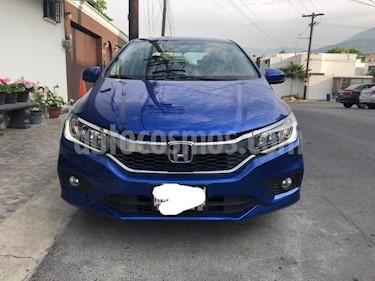 Foto Honda City EX 1.5L Aut usado (2018) color Azul precio $248,000