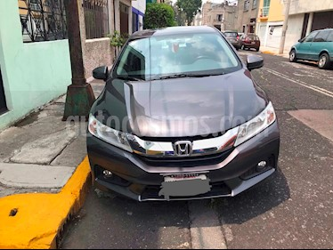 Honda City EX 1.5L Aut usado (2016) color Acero precio $199,000