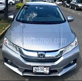 Foto venta Auto usado Honda City EX 1.5L Aut (2017) color Plata Diamante precio $239,000