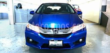 Foto Honda City EX 1.5L Aut usado (2017) color Azul precio $215,000