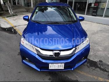 foto Honda City EX 1.5L Aut usado (2017) color Azul precio $210,000