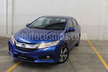 Foto venta Auto usado Honda City EX 1.5L Aut (2017) color Azul precio $216,000