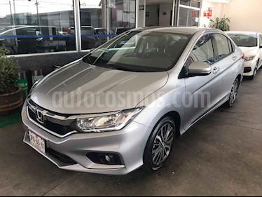 Foto venta Auto usado Honda City EX 1.5L Aut (2018) color Plata precio $263,000