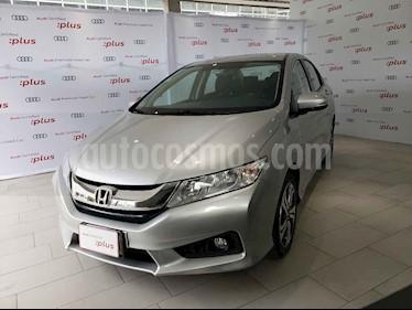 Foto venta Auto usado Honda City EX 1.5L Aut (2016) color Gris precio $198,000