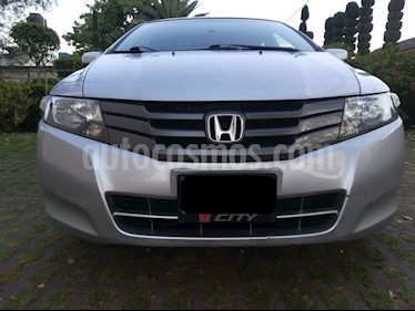 Honda City EX 1.5L usado (2011) color Plata precio $123,500