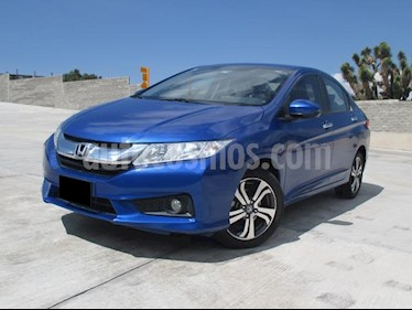 Foto venta Auto usado Honda City EX 1.5L (2017) color Azul precio $223,000