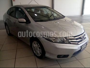 Foto venta Auto usado Honda City EX 1.5L (2013) color Plata Diamante precio $148,000