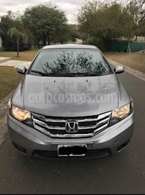 Foto venta Auto Usado Honda City EXL Aut (2014) color Gris Oscuro precio $330.000