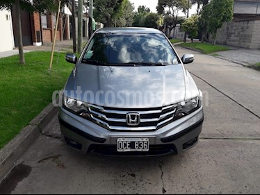Foto venta Auto usado Honda City EXL (2014) color Gris precio $349.000